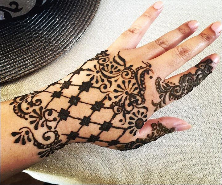 Western Mehndi Designs - The Glove. Without the finger !