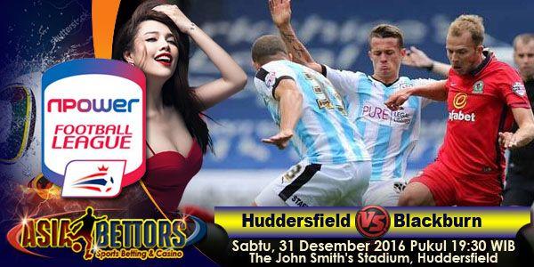 Prediksi Huddersfield Town vs Blackburn Rovers, Preview Huddersfield Town vs Blackburn Rovers, Huddersfield Town vs Blackburn Rovers akan bertemu di partai lanjutan Championship Inggris yang rencananya akan digelar pada hari Sabtu, 31 Desember 2016 Pukul 19:30 WIB dan disiarkan secara live dari The John Smith's Stadium, Huddersfield, West Yorkshire.