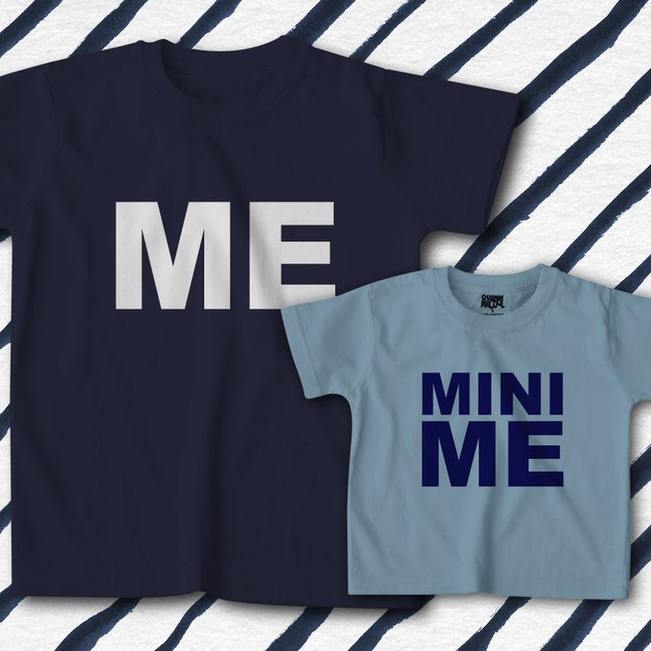 Me and Mini me - Father's Day T-shirts, Father's day gift idea, Father and Son t-shirts