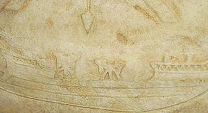 Ballistae on roman ship - Battle of Actium - Wikipedia