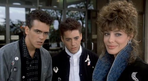 "Robert Downey Jr. in ""Weird Science"""