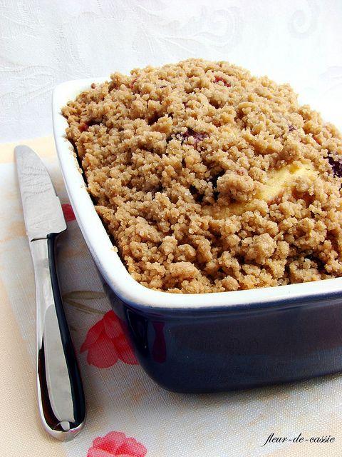 вишневый пирог с посыпкой 1