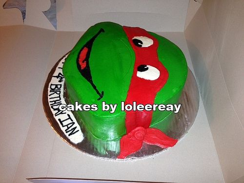 teenage mutant ninja turtles cake - Google Search