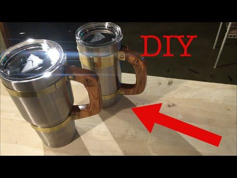 550 paracord yeti cup handle - YouTube