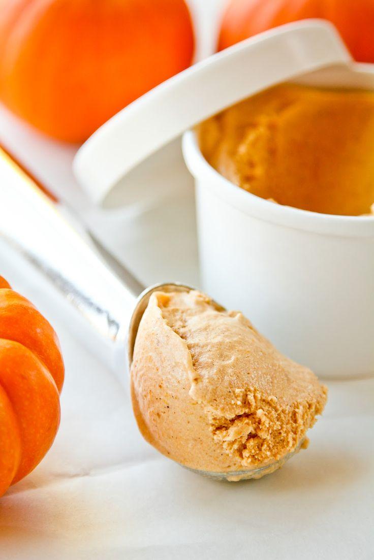 Spiced Pumpkin Ice Cream - Life Made Simple
