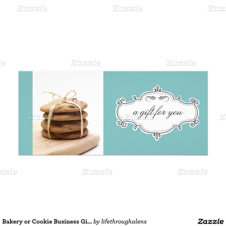 Certificados de presente do negócio da padaria ou 10.16 x 22.86cm panfleto