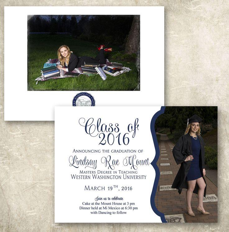 Graduation Announcement 117 best Graduation images