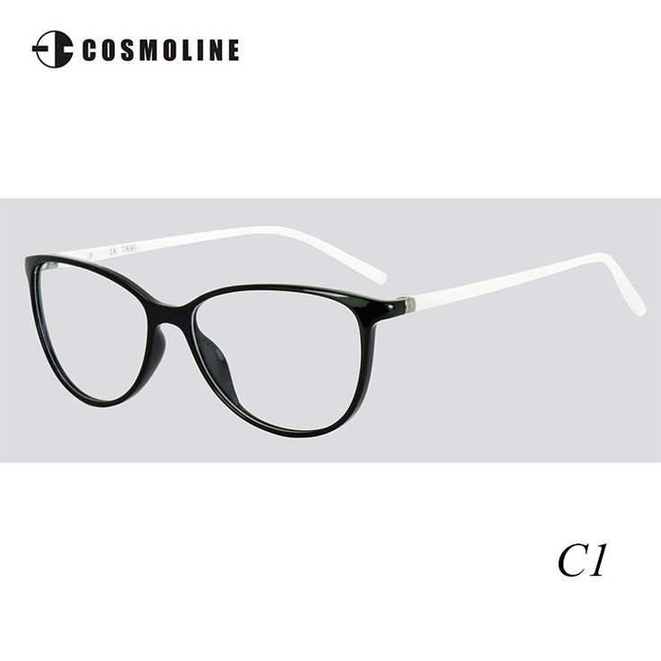 Cosmoline Women Accessories TR90 Frame Super Light TR90 Glass Frame Optical Eyewear Myopia Eyeglasses Frame 484