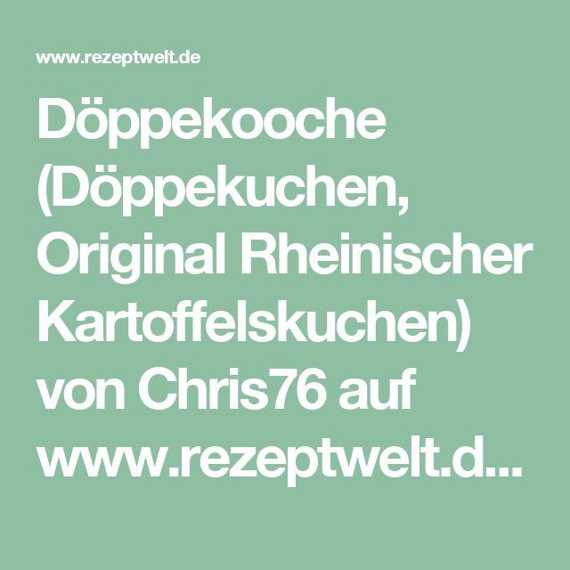 Döppekooche (Döppekuchen, Original Rheinischer Kartoffelskuchen) von Chris76 auf www.rezeptwelt.de, der Thermomix ® Community