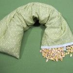corn bags heating pads how to make it yourself, how to fill, what kind corn