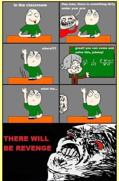 How to Troll Your Classfellow - Posted in Funny, Troll comics and LOL Images - Mix Pics
