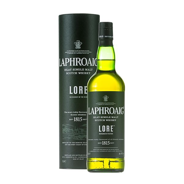 Laphroaig Lore Islay Single Malt Scotch Whisky (750 ML)