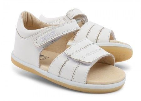 Bobux I-walk Spring White Sandals - Bobux - Little Wanderers