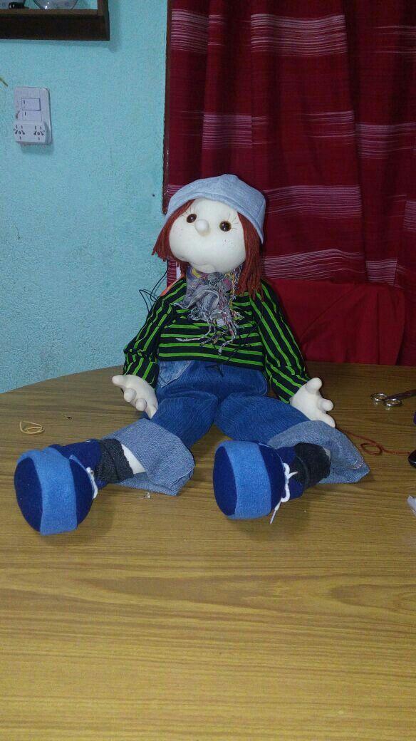Muñeco rapero!!
