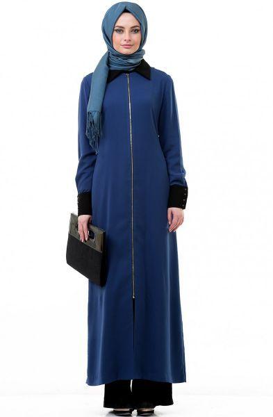 Robe hijab bleu