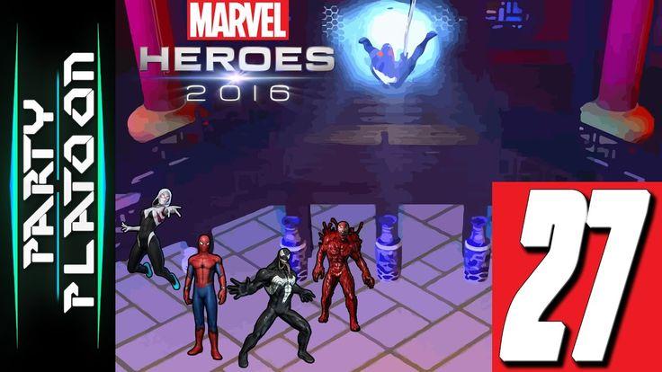Party Platoon | Marvel Heroes 2016 (#27 Venom Gameplay) Where Do We Go?