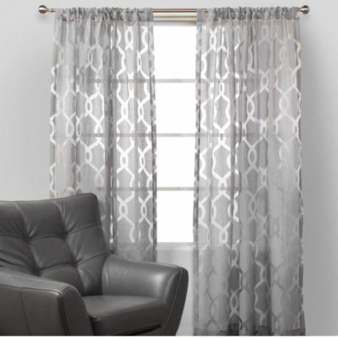 best 25 grey patterned curtains ideas on pinterest. Black Bedroom Furniture Sets. Home Design Ideas