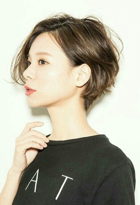 #단발머리 #숏헤어 #short #shorthair #cut #shortcut #hairstyle