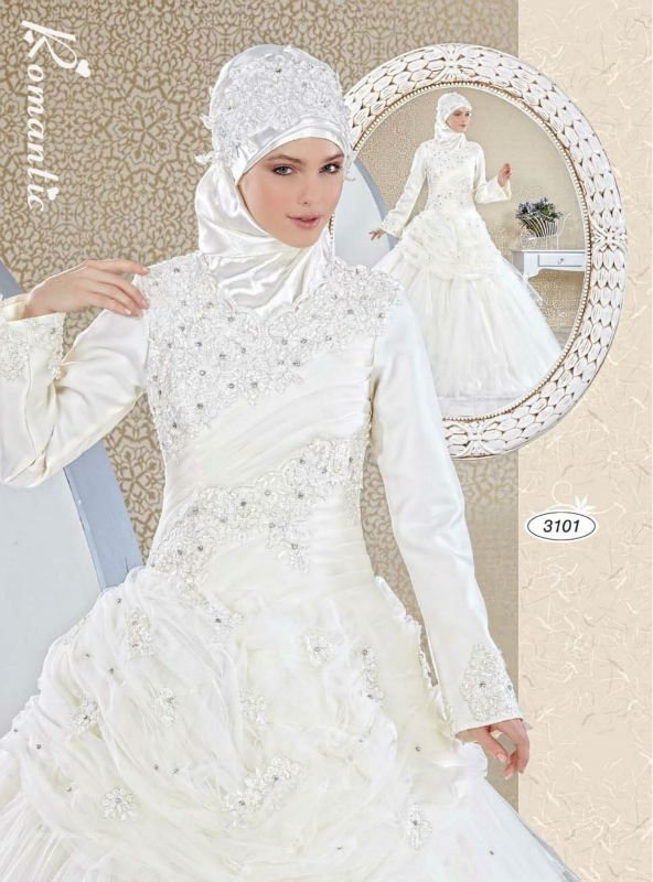 1000 images about muslim bridal on pinterest muslim for Muslim wedding dress photo