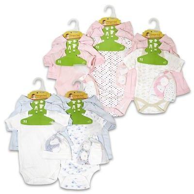 6pc Baby Clothes Set Bodysuit, Cardigan t-shirt, « Clothing Impulse