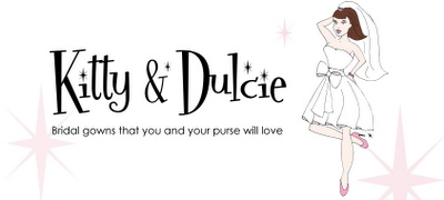 Kitty and Dulcie bridal gowns via Peonies & Pearls