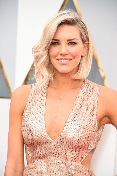 TV personality Charissa Thompson attends the 88th Annual Academy Awards at Hollywood Highland Center on February 28 2016 in Hollywood California