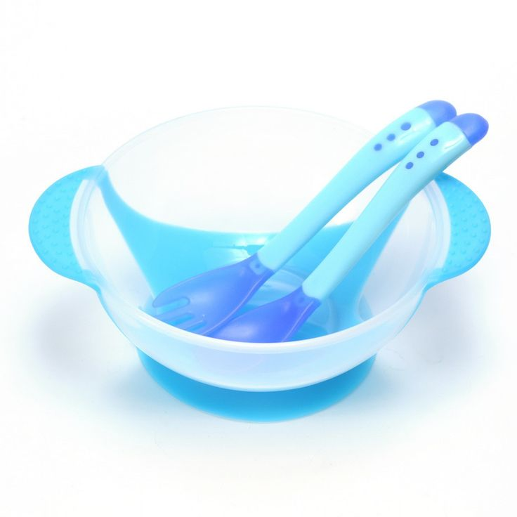 3Pcs/set Baby Learning Dishes