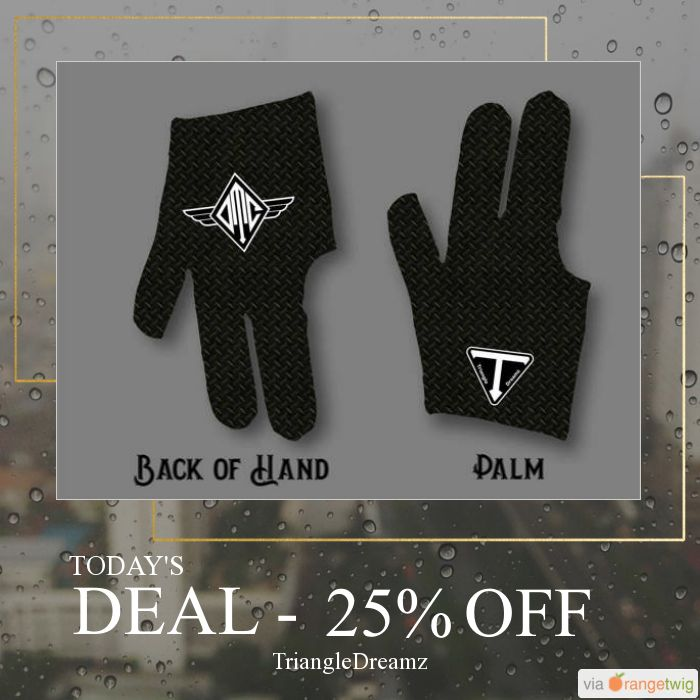 Today Only! 25% OFF this item.  Follow us on Pinterest to be the first to see our exciting Daily Deals. Today's Product: Monogrammed Black Diamond Billiard Glove Buy now: https://small.bz/AAgJhD7 #etsy #etsyseller #etsyshop #etsylove #etsyfinds #etsygifts #musthave #loveit #instacool #shop #shopping #onlineshopping #instashop #instagood #instafollow #photooftheday #picoftheday #love #OTstores #smallbiz #sale #dailydeal #dealoftheday #todayonly #instadaily
