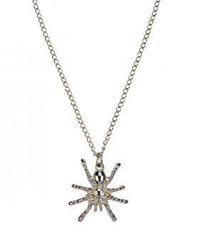 Halskette Spinne im Samtbeutel