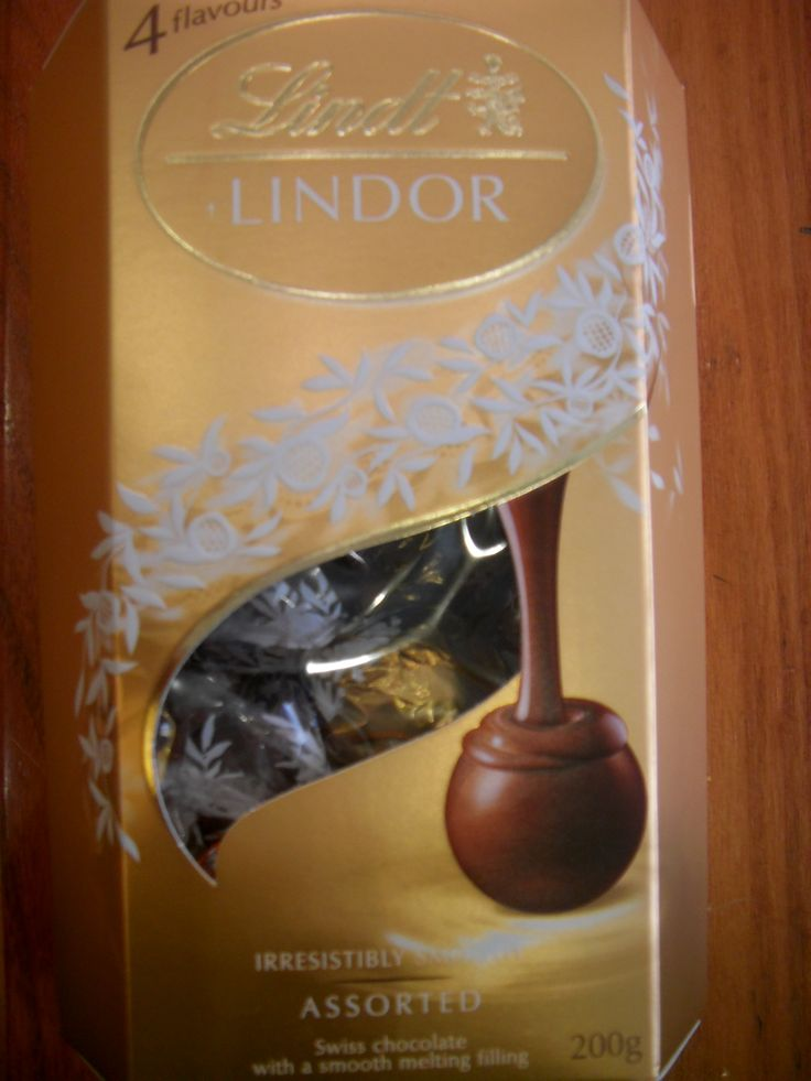 2016.1.17. Lindt Lindo Assorted chocolate bought at Lotte Department Store main branch