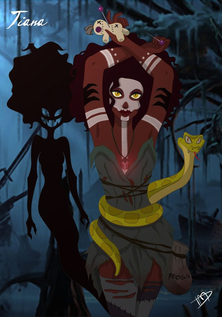 Twisted Disney Princesses deviantART   Twisted Tiana by Kasami-Sensei