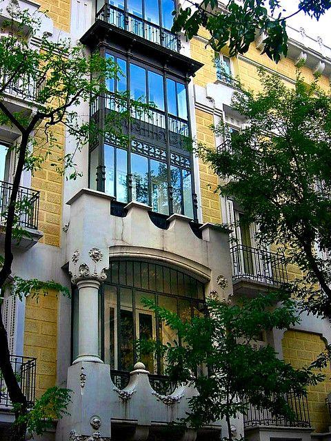 Edificio José Peña Chávarri. Calle Lagasca, 19. Madrid