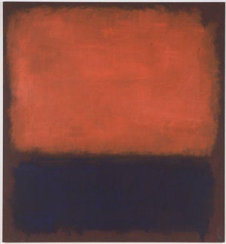 Mark Rothko: Modern Art, Oil On Canvas, Street Theatre, Mark Rothko, Contemporary Art, Christopher Rothko, American Artists, Colors Fields, 1960 1960