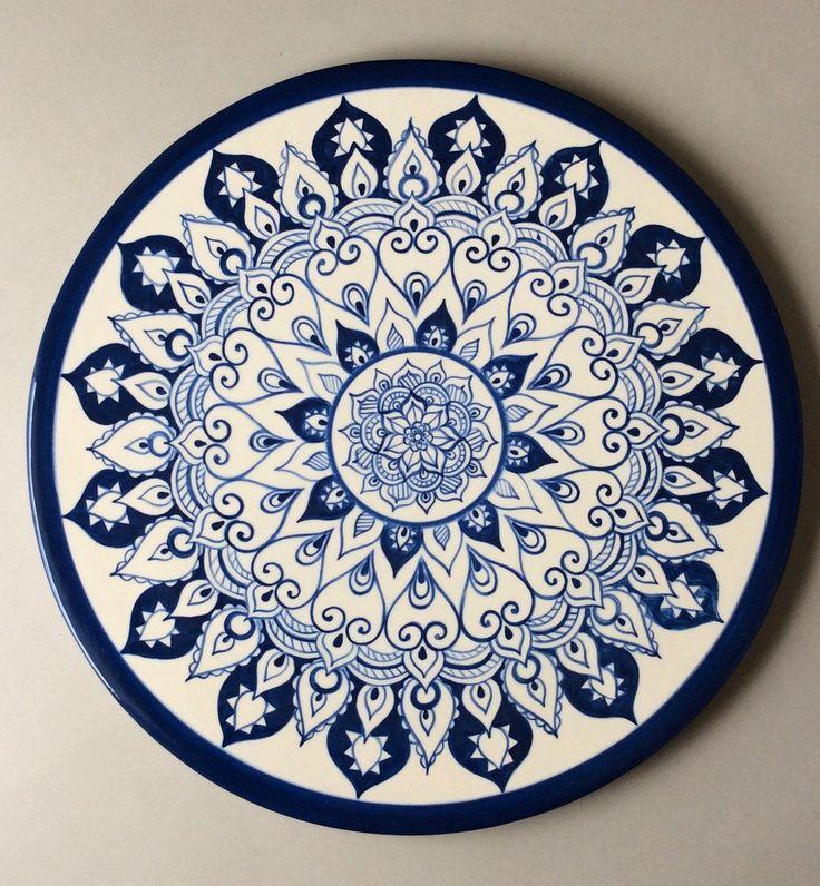 lindo prato feito em cerâmica e pintado a mão 100% artesanal!!!!