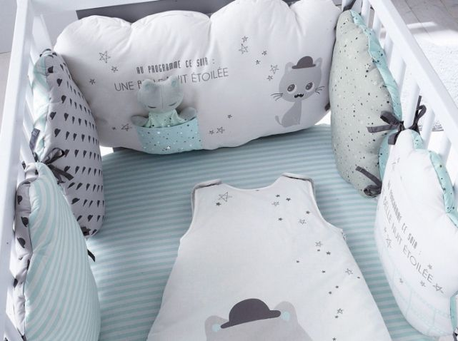 17 ideas about lit bebe on pinterest berceaux pour - Comment faire un tour de lit soi meme ...