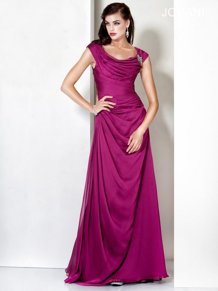 Tiered and Draped Gown, Style 5567