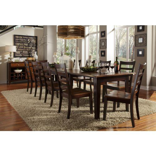emejing real wood dining room sets pictures - room design ideas