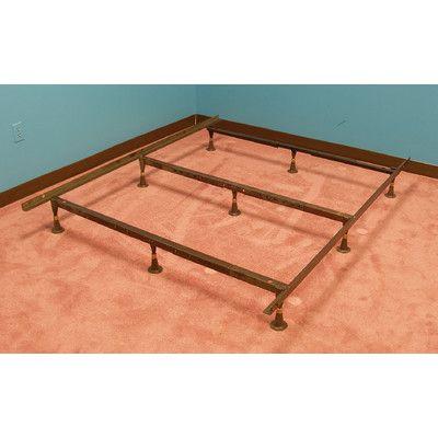 Strobel Technologies Organic Heavy-Duty Bed Frame Size: King/Queen