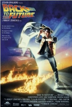 Amazon.com: (27x40) Back to the Future Michael J Fox Movie Poster: Home & Kitchen