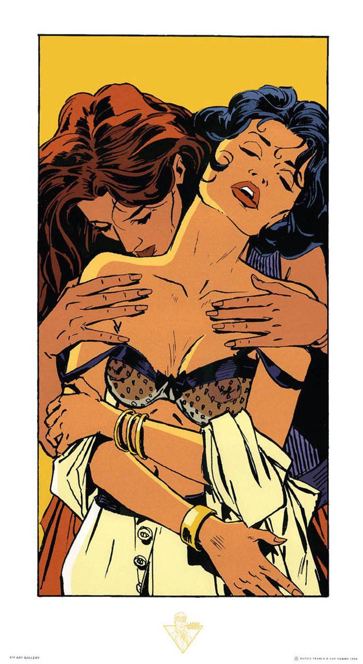 lesbian erotic comics