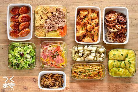 2017年1月第2週の作り置き。調理時間150分で10品。使った食材とおおよその食費、実際に作ったおかずまで、1週間分の作り置きレシピをご紹介します。作り置きをしない方も1週間の献立としてご利用ください。