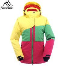 US $69.80 Saenshing ski jacket woman winter waterproof skiing jacket thicken warm outdoor snowboard Snow jacket womens ski suits High-Q. Aliexpress product