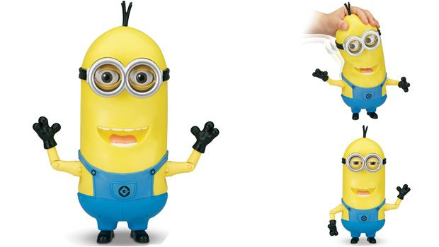 """SPECIAL FEATURE  MINION TIM - SINGING ACTION FIGURE (10"""")"""