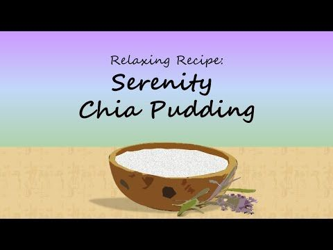PLEASE CLICK ON THE 'VISIT' BUTTON & SUBSCRIBE TO MY YOUTUBE CHANNEL :-) Serenity Chia Pudding - Relaxing Recipes #1 with The Serenity Oracle - YouTube