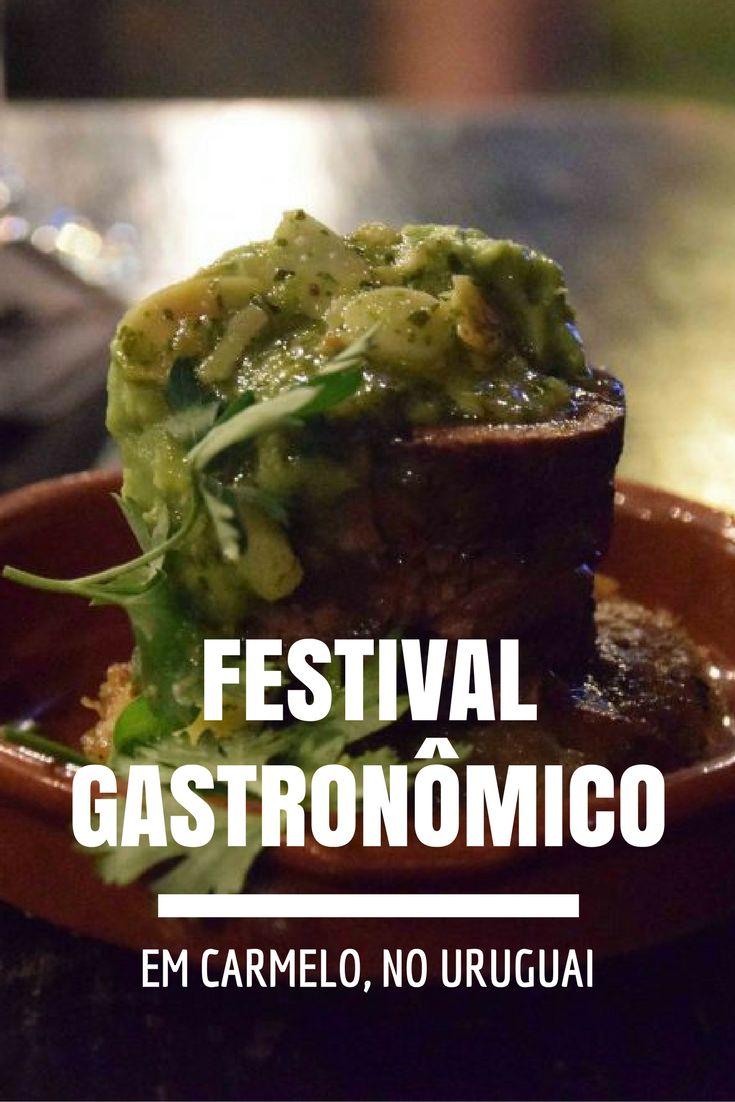 Descubra tudo sobre o festival gastronômico que acontece no Hotel Hyatt, em Carmelo no Uruguai! Uma delícia para quem adora vinhos e boa comida: http://www.viagememdetalhes.com.br/festival-gastronomico-em-carmelo-no-uruguai/