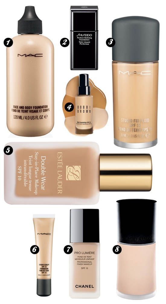 foundations Best facial