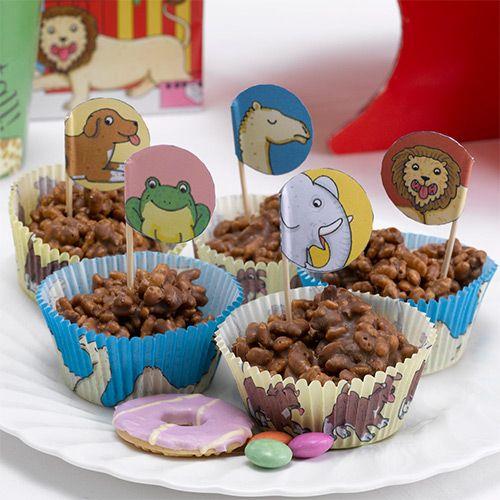 Party Ark's 'Dear Zoo Cupcake Cases & Picks'