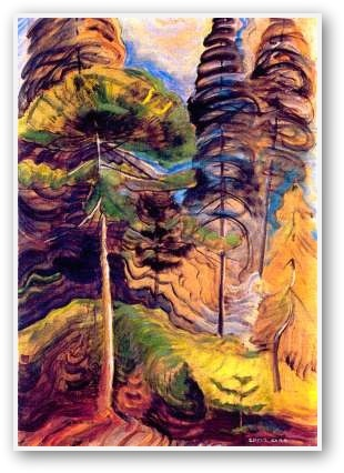 Emily Carr:- Forest Landscape 1931