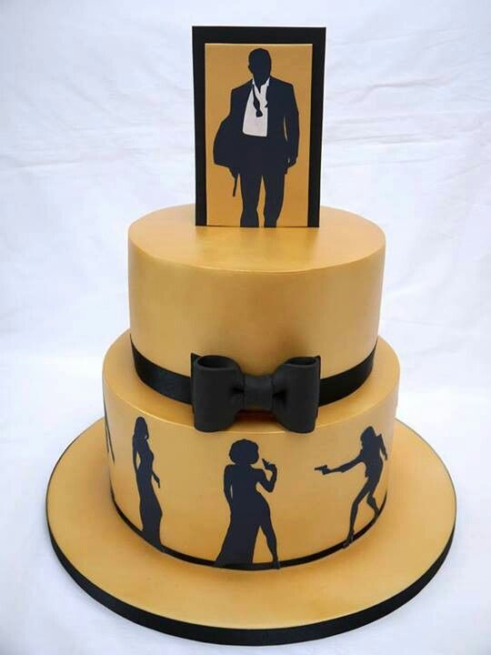 Cake Design James Bond : 54 best images about 007 cakes on Pinterest Trade show ...