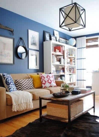 Living room azzurro